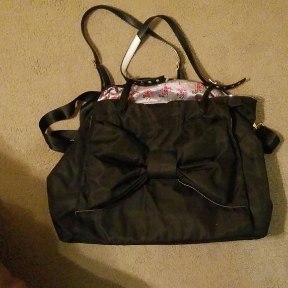 Betsey Johnson Bags Extra Large Yoga Bag Poshmark